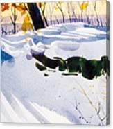Blue Joy Canvas Print
