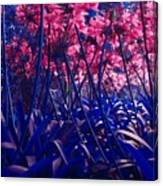 Blue Jungle Canvas Print