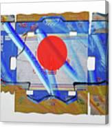 Blue Kimono Canvas Print