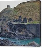 Blue Lagoon 2 Abereiddy Wales Canvas Print