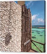Blue Lagoon View 1 Canvas Print