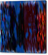Blue Liquid Canvas Print