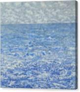 Blue Majesty Canvas Print