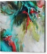 Blue Man 2 Canvas Print
