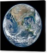 Blue Marble 2012 Planet Earth Canvas Print