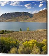 Blue Mesa Lake In Gunnison County Colorado Canvas Print