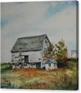 Blue Milkhouse Canvas Print