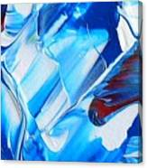 blue mode I Canvas Print