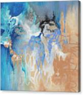 Blue Monday Canvas Print