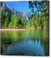 Blue Mood In Yosemite Canvas Print