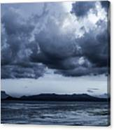 Blue Morning Taal Volcano Philippines Canvas Print
