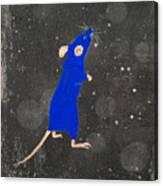 Blue Mouse Canvas Print