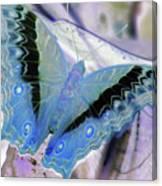 Blue Negative Canvas Print