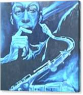Blue Note Canvas Print