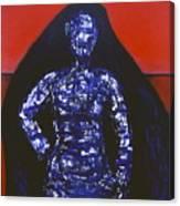 Blue Nun Target Canvas Print