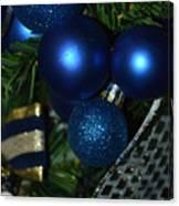 Blue Ornament Canvas Print