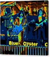 Blue Oyster Cult Jamming In Oakland 1976 Canvas Print