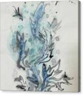 Blue Plant Of Dream Canvas Print