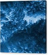 Blue Plants Canvas Print