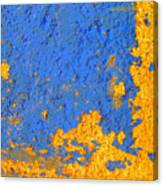 Blue Plaster 3 By Darian Day Canvas Print