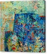 Blue Play 1 Canvas Print