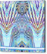 Blue Praise Canvas Print