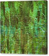 Blue Reed Canvas Print