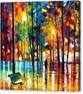 Blue Refelctions Canvas Print