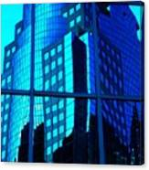 Blue Reflections ... Canvas Print
