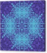 Blue Resonance Canvas Print