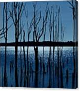 Blue Reservoir - Manasquan Reservoir Canvas Print