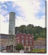 Blue Ridge Dam 4 Canvas Print