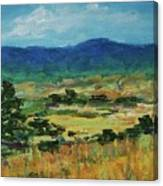 Blue Ridge Canvas Print