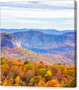 Blue Ridge Mountains 1 Canvas Print
