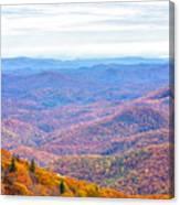 Blue Ridge Mountains 3 Canvas Print