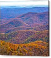 Blue Ridge Mountains 4 Canvas Print