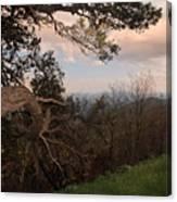 Blue Ridge Mts Canvas Print