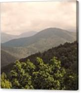 Blue Ridge Overlook Canvas Print