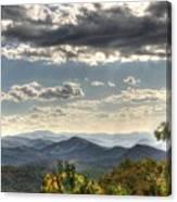 Blue Ridge Parkway, Buena Vista Virginia 1 Canvas Print