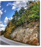 Blue Ridge Parkway, Buena Vista Virginia 3 Canvas Print