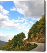 Blue Ridge Parkway, Buena Vista Virginia 6 Canvas Print