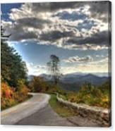 Blue Ridge Parkway, Buena Vista Virginia Canvas Print