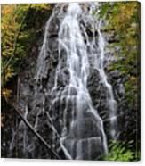 Blue Ridge Parkway Crabtree Falls In Autumn Canvas Print