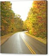 Blue Ridge Parkway In Fall Canvas Print