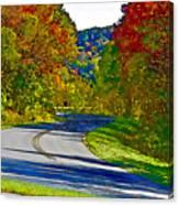Blue Ridge Parkway Interpretation Canvas Print