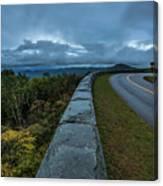 Blue Ridge Parkway Twisty Canvas Print
