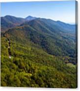 Blue Ridge Parkway5 Canvas Print
