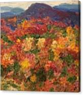 Blue Ridge Pastoral Canvas Print