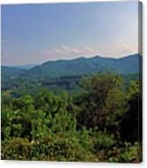 Blue Ridge Pkwy Canvas Print