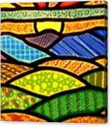 Blue Ridge Sunrise Canvas Print